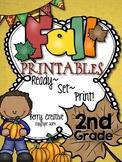 Fall Printables for Second Grade {Ready, Set, Print!}