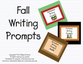 Fall Writing Prompts for Interactive Whiteboard and Litera