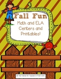 Fall and Thanksgiving Centers and Printables!