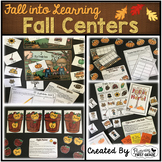 Math and Literacy Centers for Fall ~ Fall into First Grade