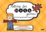 Falling for Math Games FREEBIE