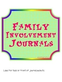 Family Involvement Journals