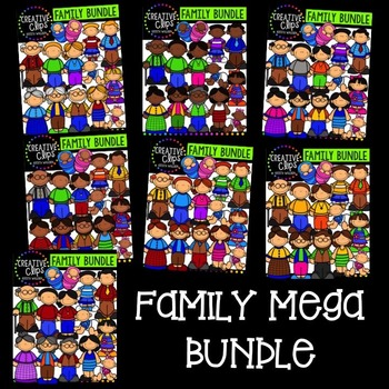 Family Mega Bundle {Creative Clips Digital Clipart}