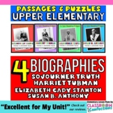 Famous Women: Sojourner Truth, Harriet Tubman, Elizabeth C