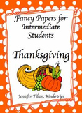 Writing Papers for Intermediate Students-Thanksgiving
