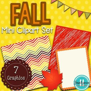 FREE Fantastic Fall- Mini Clipart Set