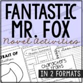 Fantastic Mr. Fox Interactive Notebook