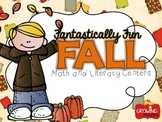 Fantastically Fun FALL! {Math and Literacy Centers}