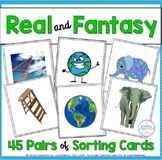 Fantasy and Reality Sorting Cards
