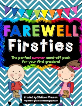End of the Year Activities - Farewell Firsties