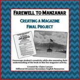 Farewell to Manzanar Final Project - Creating a Magazine