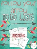 Farley's Follow Your Arrow To Do Lists *editable*you custo
