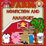 Farm Analogies, Graphic Organizers and Writing {K-1}