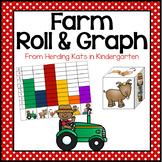 Farm Animal Roll & Graph Activity