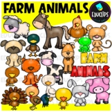 Farm Animals Clip Art Bundle