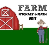 Farm Animals Literacy and Math Unit