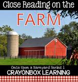 Farm Close Reading, Non Fiction Passages, Writing, Interac