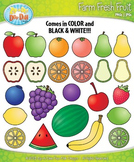 Farm Fresh Fruit Clip Art Set — Over 40 Graphics!