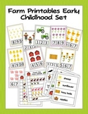 Farm Printable Activities for Preschool and Kindergarten
