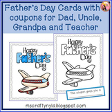 Fathers Day Colouring Card & Coupon