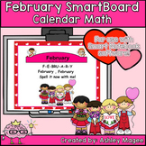 February Calendar Math/Morning Meeting for SMARTBoard