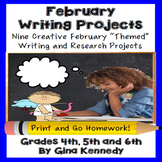 February Writing Projects
