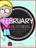 February Interactive Math Journal {Grade 2}