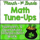 March Math First Grade