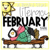 February Morning Bright {Kindergarten Literacy Morning Work}
