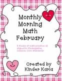 February Morning Math