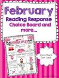 February Reading Response Choice Board