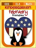 February Math And ELA Unit (Kindergarten)