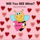"February Valentine's Day ""BEE Mine"" SMART Board Attendance"