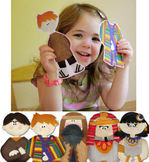 Felt Story Set: Scripture Story Characters {Old Testament}