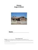 Fences by August Wilson: Complete Lesson Unit
