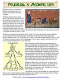 Feudalism Reading Worksheet