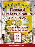 Fibonacci Numbers in Nature Unit Study with Lapbook & Note