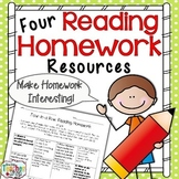 Reading Homework Resources for Fiction & Non-Fiction