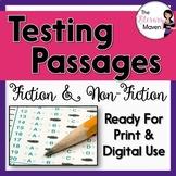 Fiction and Nonfiction Test Passages