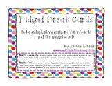 Fidget Break Cards