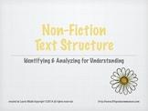 Non Fiction Text Structure PowerPoint Presentation