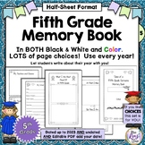 End of Year Memory Book {5th Grade} Tales of a Fifth Grade