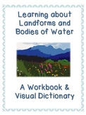 Fifty (50) Landforms and Bodies of Water Workbook - Visual