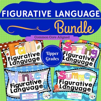 Figurative Language Bundle! idioms ,multiple meanings, & more!
