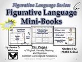 Figurative Language Mini Books Common Core Analysis
