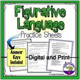 Figurative Language Practice Sheet