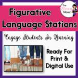 Figurative Language Stations - Common Core Aligned