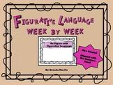 Figurative Language Week by Week