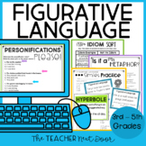 Figurative Language: Common Core 3rd - 5th Grades