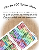 File Folder Game for teaching 100 Number Charts
